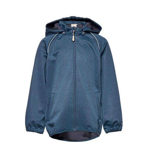 WHEAT Softshell Jacket Eddie Outerwear Softshells Softshell Jackets Blau WHEAT Blau 122,98,110,116,128,104,140,152