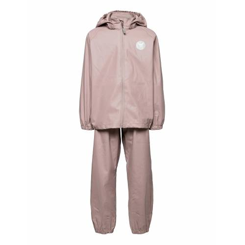 WHEAT Rainwear Charlie Outerwear Rainwear Sets & Coveralls Pink WHEAT Pink 104,122,110,98,116