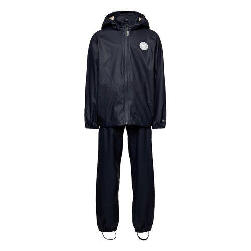 WHEAT Rainwear Charlie Outerwear Rainwear Sets & Coveralls Blau WHEAT Blau 104,116,110,98
