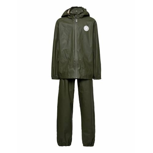 WHEAT Rainwear Charlie Outerwear Rainwear Sets & Coveralls Grün WHEAT Grün 128,98,104,110