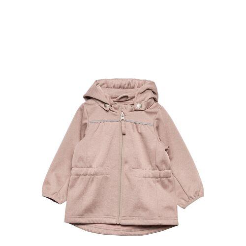 WHEAT Softshell Jacket Gilda Outerwear Softshells Softshell Jackets Pink WHEAT Pink 80,92,86,74