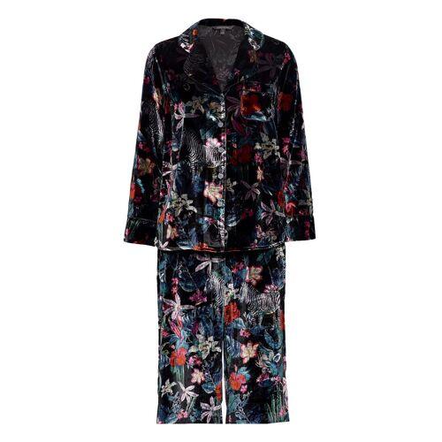 BANANA REPUBLIC Velvet Pajama Set Pyjama Bunt/gemustert BANANA REPUBLIC Bunt/gemustert M,L,S,XL,XS