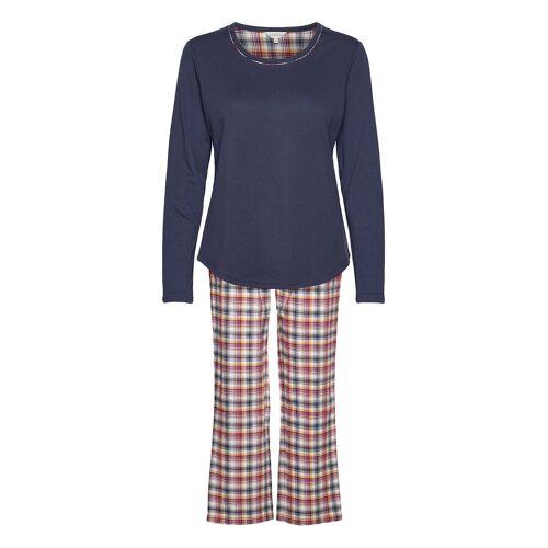 LADY AVENUE Cotton Flannel Pyjamas Pyjama Blau LADY AVENUE Blau M,L,XL,S,XS,XXL