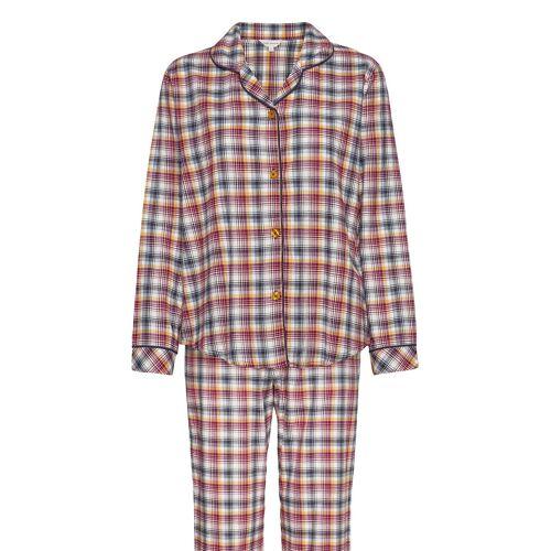 LADY AVENUE Cotton Flannel Pyjamas Pyjama LADY AVENUE  XL,M,L,S,XXL