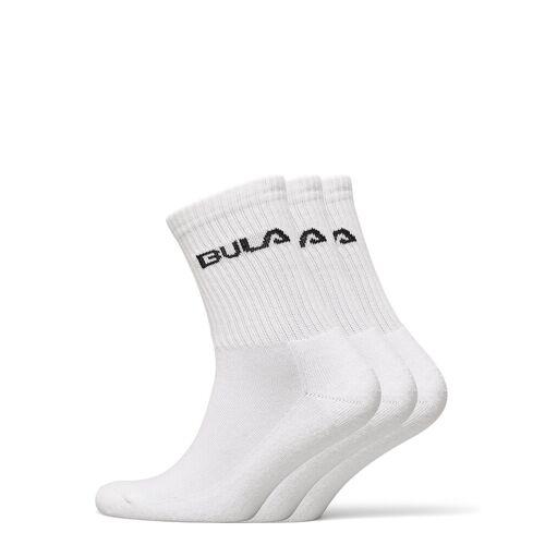 BULA Classicsock3pk Underwear Socks Regular Socks Weiß BULA Weiß L,M,S
