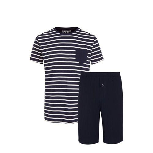 Jockey Pyjama Short Knit Pyjama Blau JOCKEY Blau XXXXL,XXXL,XXXXXL,XXXXXXL,XXL