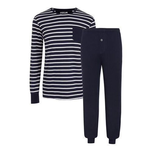 Jockey Pyjama Knit Pyjama Blau JOCKEY Blau XXXXL,XXXL,XXXXXL,XXXXXXL,XXL