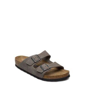 Birkenstock Arizona Soft Footbed Shoes Summer Shoes Sandals Grau BIRKENSTOCK Grau 41,45