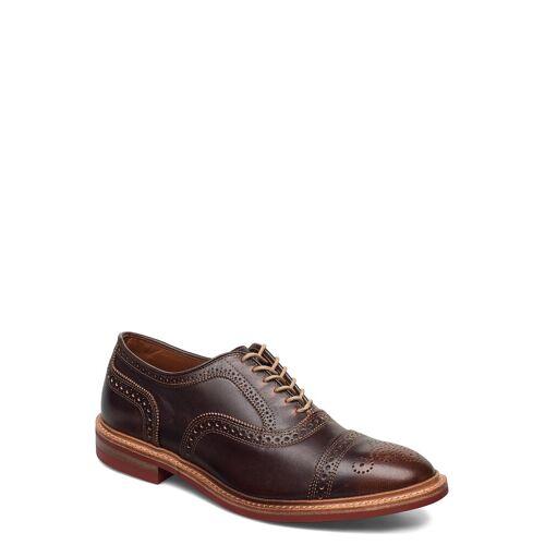 allen edmonds Strandmok Shoes Business Laced Shoes Braun ALLEN EDMONDS Braun 43,41,41.5,42,43.5,44,44.5,45