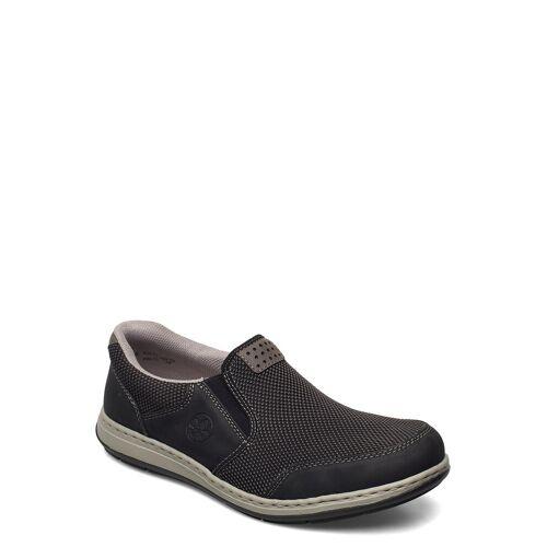 Rieker 17363-00 Loafers Flache Schuhe Schwarz RIEKER Schwarz 43,42,44,41,45,40,46,47