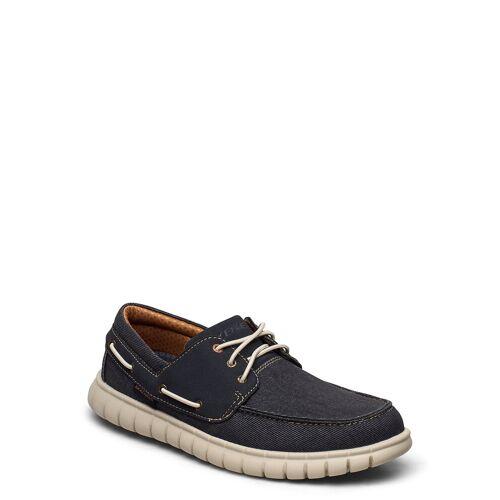 Skechers Mens Moreway Bootsschuhe Schuhe Blau SKECHERS Blau 44,43,42,45,46,41,47.5