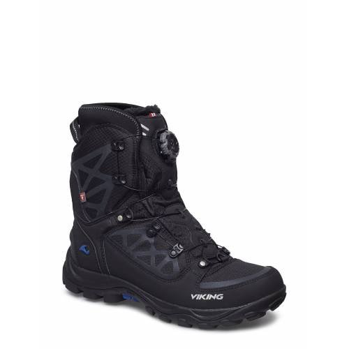 Viking Constrictor Iii Boa Shoes Boots Winter Boots Schwarz VIKING Schwarz 43,42,44,45,41,46,47