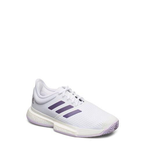 ADIDAS TENNIS Solecourt W Shoes Sport Shoes Training Shoes- Golf/tennis/fitness Weiß ADIDAS TENNIS Weiß 36 2/3,38,37 1/3,42,36