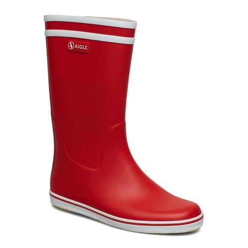 Aigle Ai Malouine Rouge/Blanc Gummistiefel Schuhe Rot AIGLE Rot 41,39,40,38,36,35