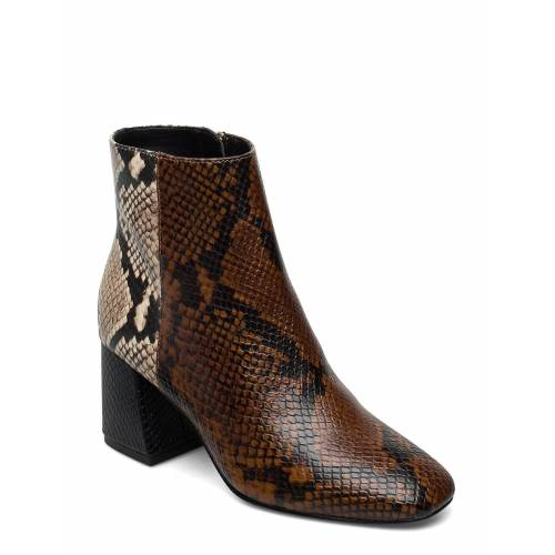ALDO Layla Shoes Boots Ankle Boots Ankle Boot - Heel Braun ALDO Braun