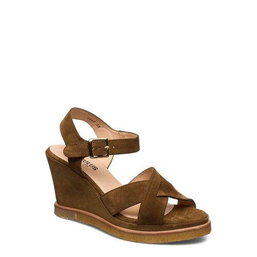 ANGULUS Sandals - Wedge Sandale Mit Absatz Braun ANGULUS Braun 40,41