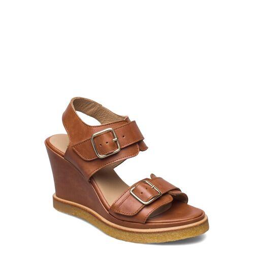 ANGULUS Sandals - Wedge Sandale Mit Absatz Braun ANGULUS Braun 35