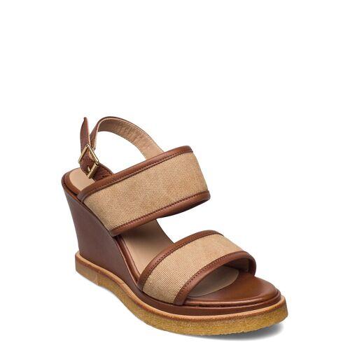 ANGULUS Sandals - Wedge Sandale Mit Absatz Beige ANGULUS Beige 38,39,40,37,36,41,35