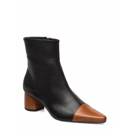 ANNY NORD Rocket Career Shoes Boots Ankle Boots Ankle Boot - Heel Schwarz ANNY NORD Schwarz 40,39,36