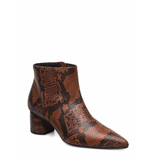 ANNY NORD To The Moon And Back Shoes Boots Ankle Boots Ankle Boot - Heel Braun ANNY NORD Braun 39,37,40,36,41