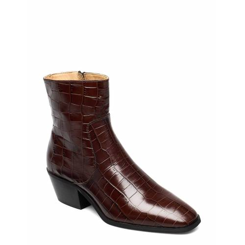 ANNY NORD Anny Drop Your Gun Shoes Boots Ankle Boots Ankle Boot - Heel Braun ANNY NORD Braun 38,40,36,37