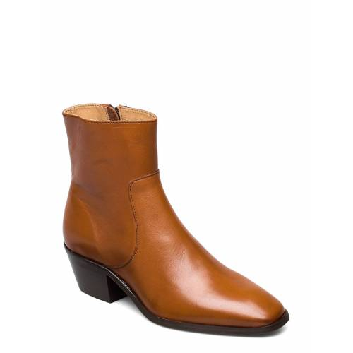 ANNY NORD Anny Drop Your Gun Shoes Boots Ankle Boots Ankle Boot - Heel Braun ANNY NORD Braun 38,40,36