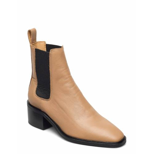 ANNY NORD All Day All Night Shoes Boots Ankle Boots Ankle Boot - Heel Beige ANNY NORD Beige 38,37,39,40,36,41