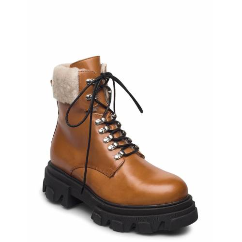 APAIR Chuncky Ski Shoes Boots Ankle Boots Ankle Boot - Flat Braun APAIR Braun 39,40,41
