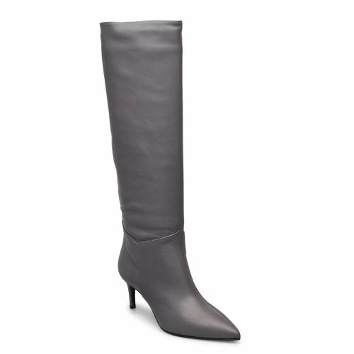 APAIR Long Low Stiletto Hohe Stiefel Grau APAIR Grau 38,37,40,41