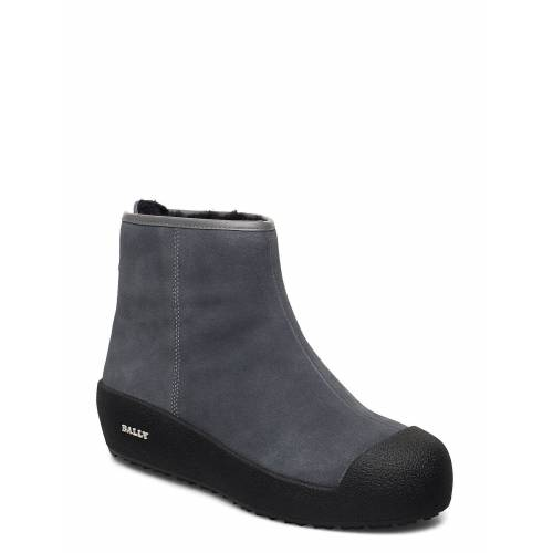 BALLY Guard Ii L-New/25 Shoes Boots Ankle Boots Ankle Boot - Flat Grau BALLY Grau 39,38,40,37,41,36