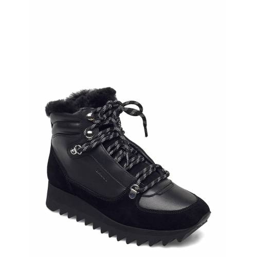 BALLY Gaye-Fur-Shark/00 Shoes Boots Ankle Boots Ankle Boot - Flat Schwarz BALLY Schwarz 40,36,39.5,37,39,38,38.5,41,37.5