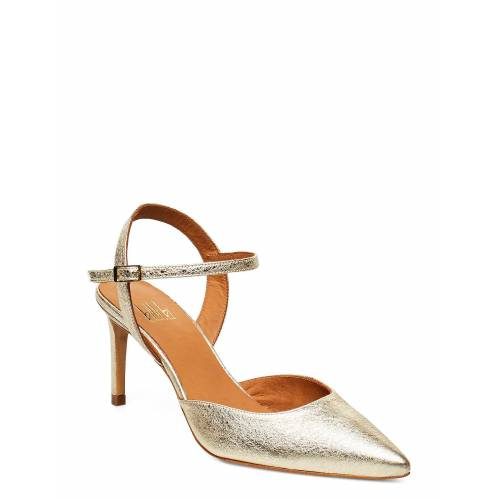 BILLI BI Pumps 4595 Shoes Heels Pumps Sling Backs Gold BILLI BI Gold 40