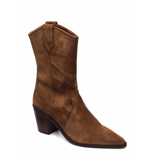 BILLI BI Boots 4943 Shoes Boots Ankle Boots Ankle Boot - Heel Braun BILLI BI Braun 37,38,40,36,41