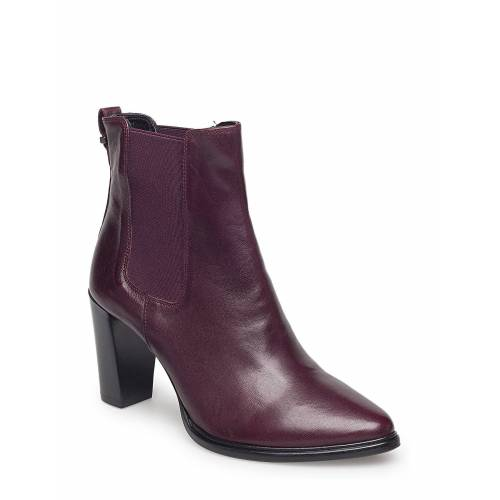 BILLI BI Boots 7792 Shoes Boots Ankle Boots Ankle Boot - Heel Rot BILLI BI Rot