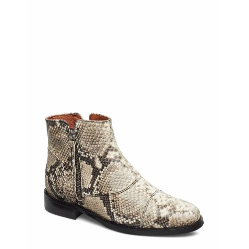 BILLI BI Boots Shoes Boots Ankle Boots Ankle Boot - Flat Bunt/gemustert BILLI BI Bunt/gemustert 39,38,37,36