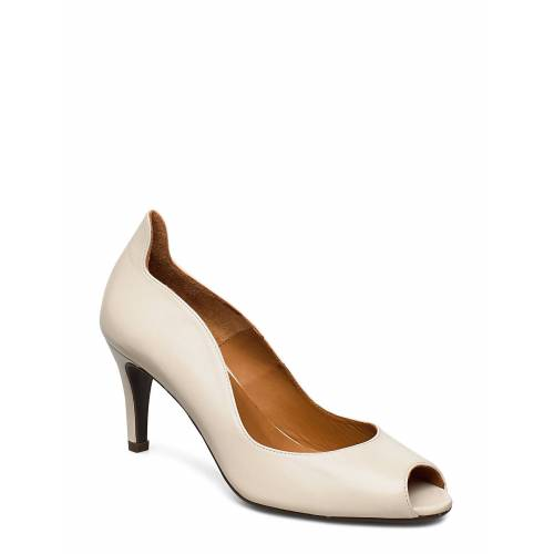 BILLI BI Pumps 8080 Shoes Heels Pumps Peeptoes Creme BILLI BI Creme