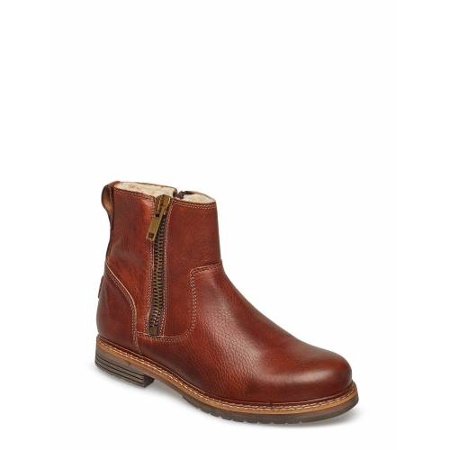 BJÖRN BORG Joss High Zip W Shoes Boots Ankle Boots Ankle Boot - Flat Braun BJÖRN BORG Braun 36