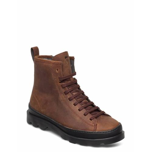 Camper Brutus Shoes Boots Ankle Boots Ankle Boot - Flat Braun CAMPER Braun 40,37