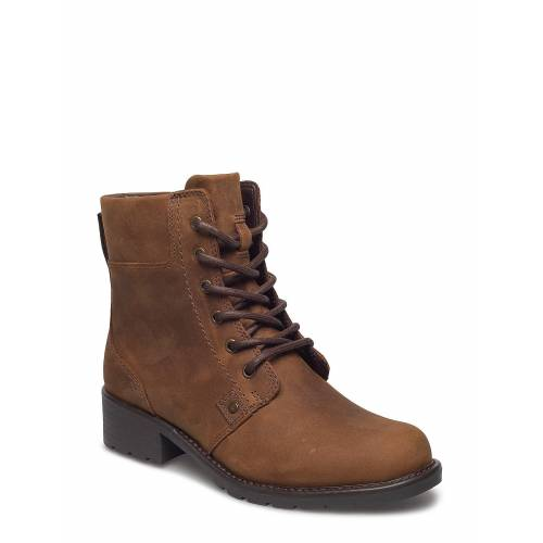 Clarks Orinoco Spice Shoes Boots Ankle Boots Ankle Boot - Flat Braun CLARKS Braun 37,36,35.5