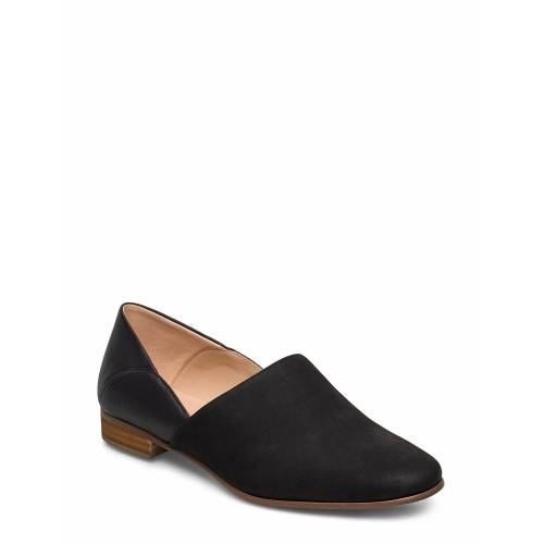 Clarks Pure T Loafers Flache Schuhe Schwarz CLARKS Schwarz 37,39.5,38,37.5,36,41.5,35.5