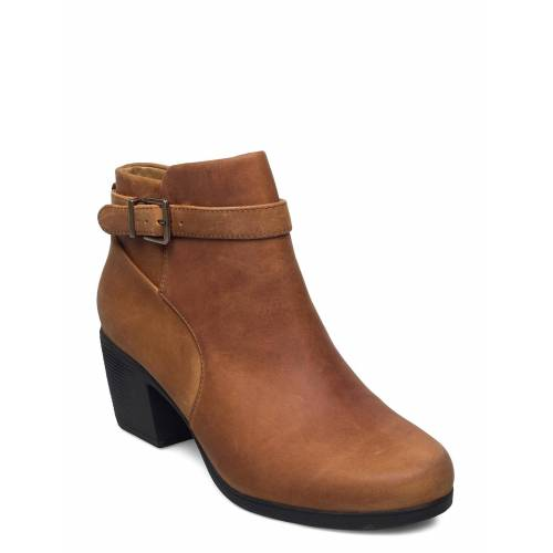 Clarks Un Lindel Lo Shoes Boots Ankle Boots Ankle Boot - Heel Braun CLARKS Braun 40,42,39.5,41,41.5