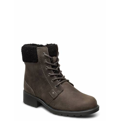 Clarks Orinoco Dusk Shoes Boots Ankle Boots Ankle Boot - Flat Grau CLARKS Grau 38,39,40,37,39.5,37.5,41,36,41.5,35.5,42
