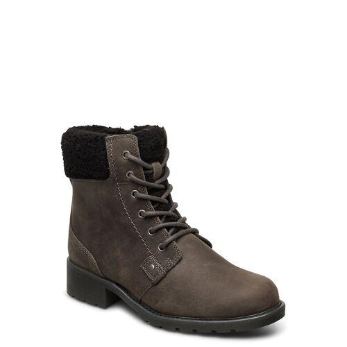 Clarks Orinoco Dusk Shoes Boots Ankle Boots Ankle Boot - Flat Grau CLARKS Grau 37,37.5,41,39.5,36,38,39,40,41.5