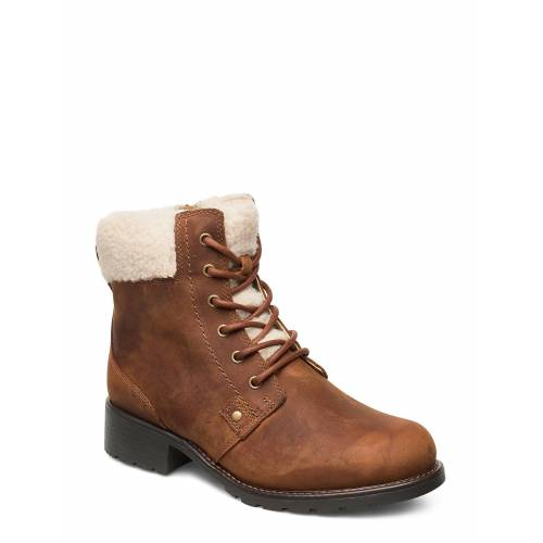 Clarks Orinoco Dusk Shoes Boots Ankle Boots Ankle Boot - Flat Braun CLARKS Braun 40,38,37.5,37,41.5,36