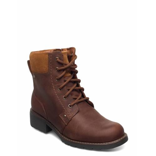 Clarks Orinoco Up Gtx Shoes Boots Ankle Boots Ankle Boot - Flat Braun CLARKS Braun 38,39,39.5,41.5,37.5