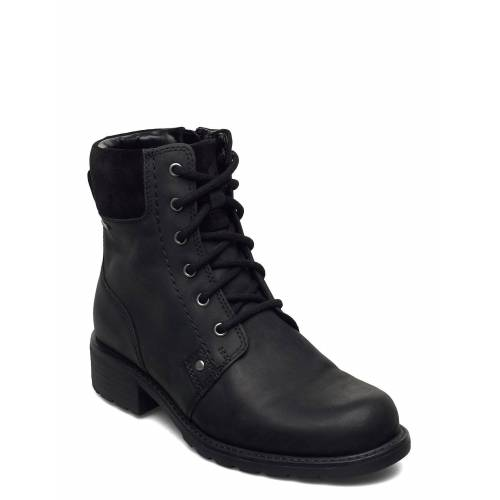 Clarks Orinoco Up Gtx Shoes Boots Ankle Boots Ankle Boot - Flat Schwarz CLARKS Schwarz 39,41.5,37.5,36,35.5