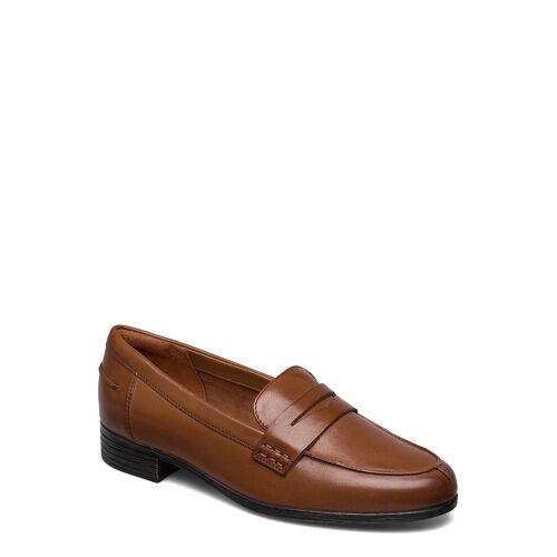 Clarks Hamble Loafer Loafers Flache Schuhe Braun CLARKS Braun 39,41,37.5,38,37