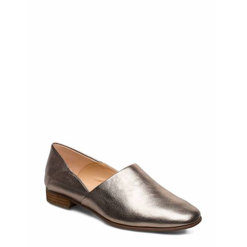 Clarks Pure T Loafers Flache Schuhe Gold CLARKS Gold 39.5,38,37,37.5,40