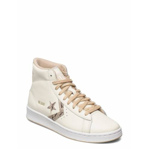Converse Pro Leather Hi Egret/Nomad/Egret Hohe Sneaker Creme CONVERSE Creme 39,38,38.5,40,37,37.5,40.5,35.5,36,35,42,41,42.5