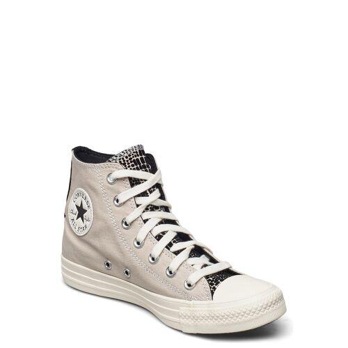 Converse Ctas Hi String/Black/Egret Hohe Sneaker Creme CONVERSE Creme 39,36,37,41,38,37.5,40,39.5,36.5,35,41.5,42,42.5